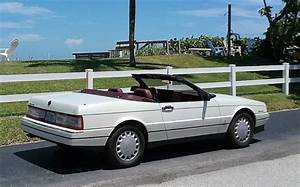 Cadillac Allante Convertible 93 White With Red Int  U0026 Top