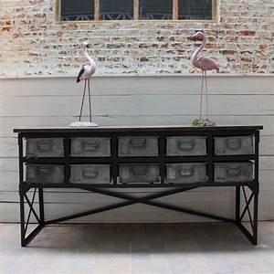 Mobilier Industriel Ancien : mobilier industriel ancien meuble industriel ~ Teatrodelosmanantiales.com Idées de Décoration