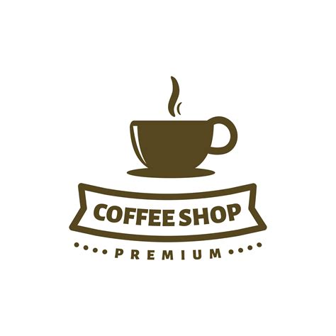 Are you launching a coffee shop chain or opening a cafe or coffee bar? coffee shop logo template vector for premium coffee ...