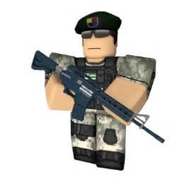 Roblox Military Guy Gun