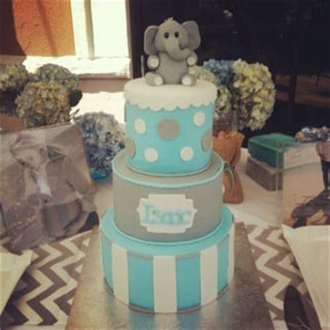 elephant themed babyshower cake yelp