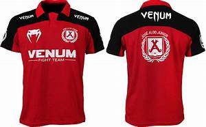 Venum Jose Aldo UFC 156 Walkout Shirt - Red/Black