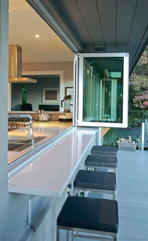 brilliant kitchen window bar designs   love