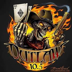 Skull Outlaw Racing Logo Design - Flyland Designs ...