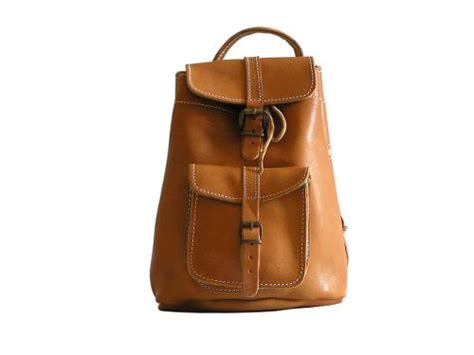 Small Leather Backpack Purse