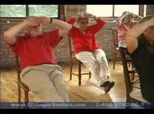 Stronger Seniors Chair Exercise Program