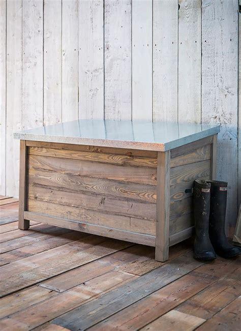 Wooden Garden Storage by Best 25 Outdoor Storage Boxes Ideas On