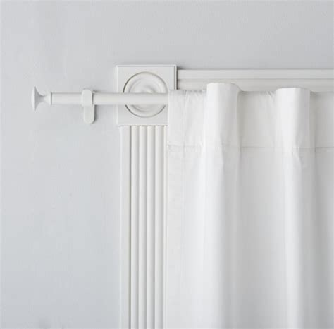 white curtain rod curtains bedroom nursery the land of nod