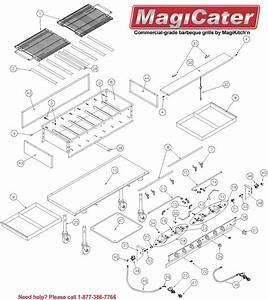 Replacement Parts For Magicater Outdoor Gas  U0026 Charcoal