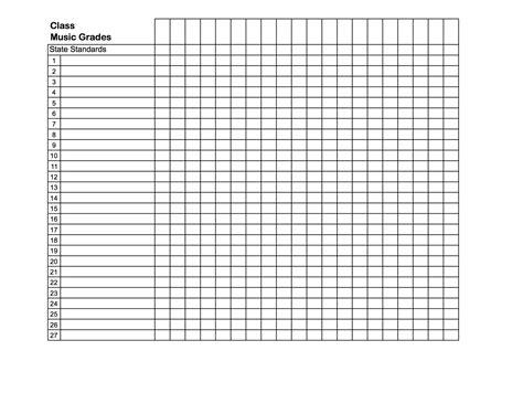 grade book template template gradebook template gradebook template