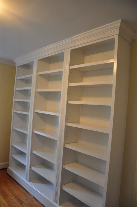 inspirations  large bookcase plans