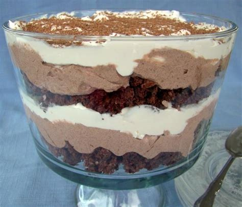 simple dessert recipes with chocolate easy chocolate trifle recipes quotes