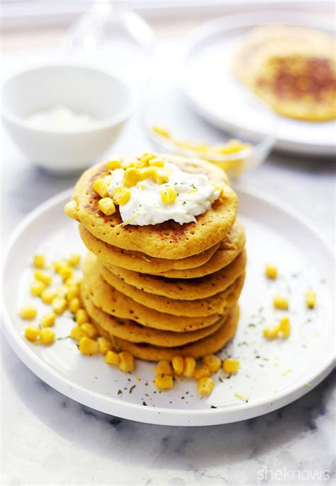 cornbread pancakes cornbread pancakes will make you want breakfast for dinner every night