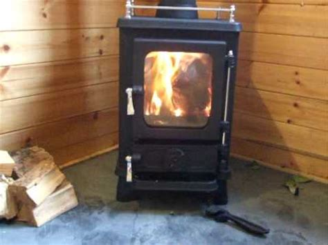 small wood stove  secondary combustion youtube