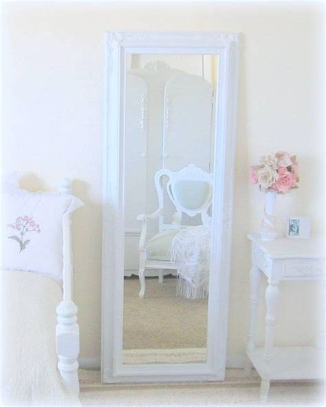 shabby chic length mirror 20 best collection of shabby chic full length mirrors
