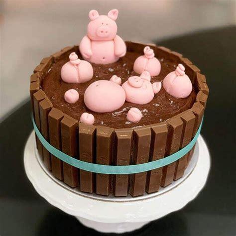 50 Pig Cake Design (Cake Idea) - February 2020   Pig ...