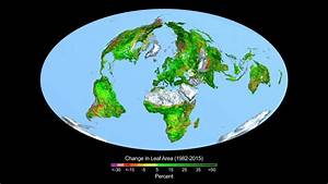 NASA: Carbon dioxide fertilization greening Earth, study ...