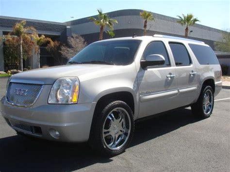 find used 2007 gmc yukon xl denali awd on 22inch wheels like new in arizona united