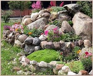 Gartenideen Mit Steinen :  ~ Indierocktalk.com Haus und Dekorationen