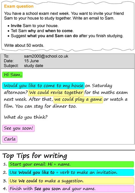 study date email learnenglish teens british council