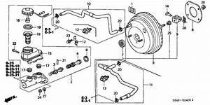 Brake Master Cylinder   Master Power For 2000 Honda Accord