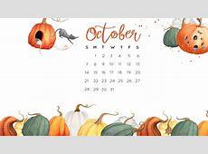 October 2018 Desktop Calendar Wallpaper Calendar 2018