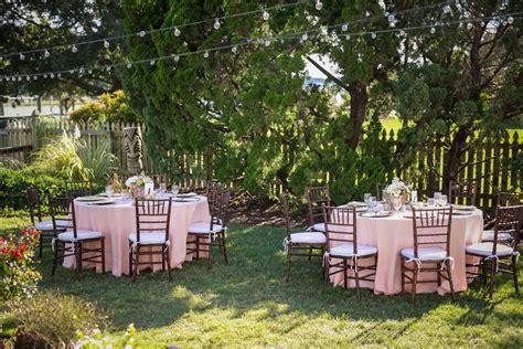 elegant backyard wedding ideas rustic wedding chic
