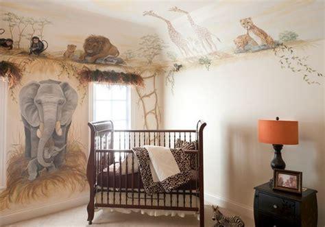 les plus belles chambres de bébé décoration chambre bébé safari deco maison moderne