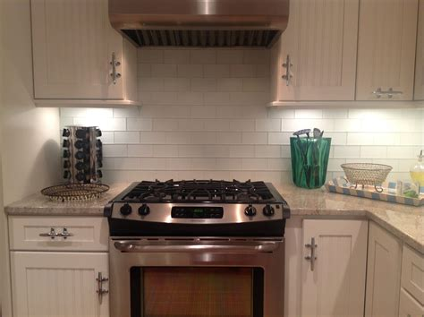 Tile Backsplashes For Kitchens Frosted White Glass Subway Tile Kitchen Backsplash Subway Tile Outlet