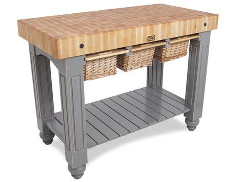 John Boos  Butcher Block Table  Kitchen Tables