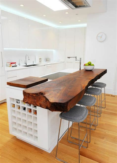 meubles cuisine bois brut les meubles en bois brut sont une touche nature pour l 39 intérieur archzine fr