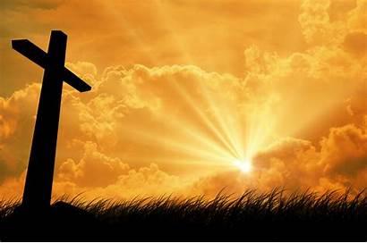 Cross Background Christian Church Backgrounds Jesus Worship