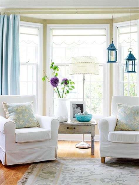 bay window treatment living rooms pinterest