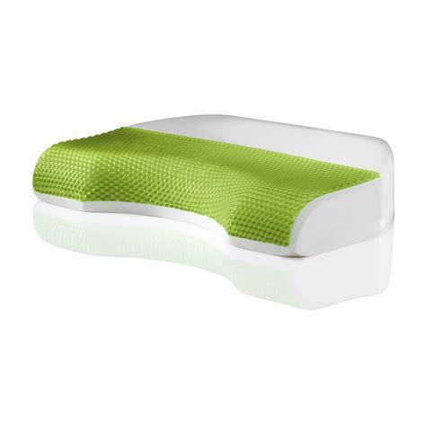 memory foam comfort revolution cove gel memory foam bed pillow