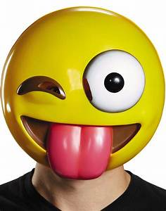 Smiley Face With Tongue Sticking Out And Winking | www ...