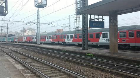 treno pavia nizza treni in transito alla stazione di pavia con thello in