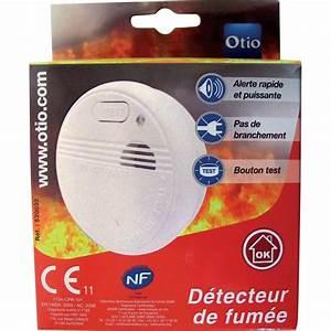 Detecteur De Fumée : test otio 520032 d tecteur de fum e ufc que choisir ~ Melissatoandfro.com Idées de Décoration