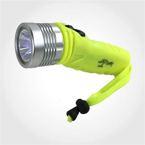 Dive Torch by 50m Waterproof Dive Torch Cree Led Flashlight Underwater