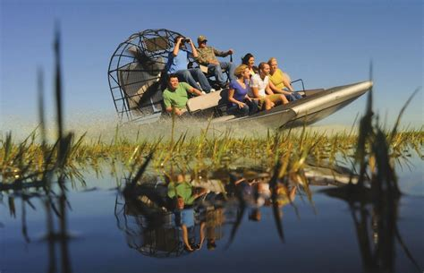 Fan Boat Ride Miami by Everglades National Park Wildlife Tourism In Florida