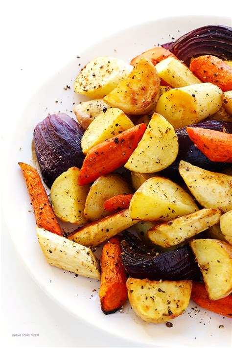 Roasted Root Vegetables  Gimme Some Oven