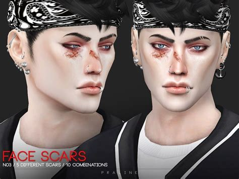 Face Scars N03 The Sims 4 Catalog