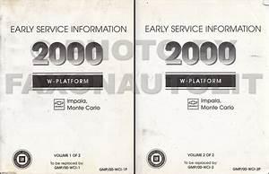 2000 Impala And Monte Carlo Repair Shop Manual Original 3