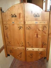 rustic bathrooms ideas custom western style saloon doors by custom