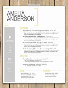 Resume template the quotsaraquot modern resume template for Free creative cover letter templates
