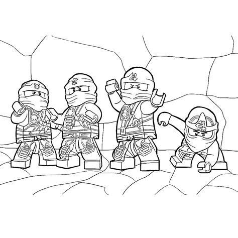 Ninjago Kleurplaten by Leuk Voor Lego Ninjago Kleurplaat