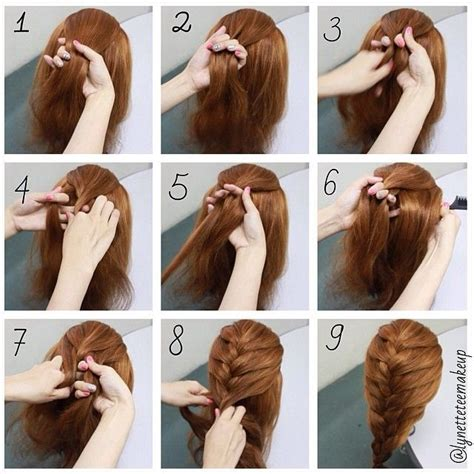 hairstyles for long hair braids steps google search