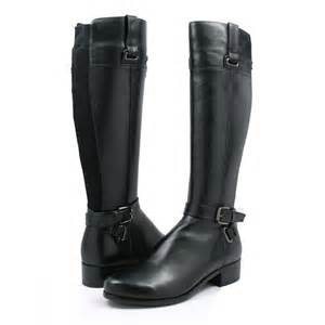 womens boots black leather solemani 39 s gabi black leather 12 calf size boot gabi 169 99 slim and