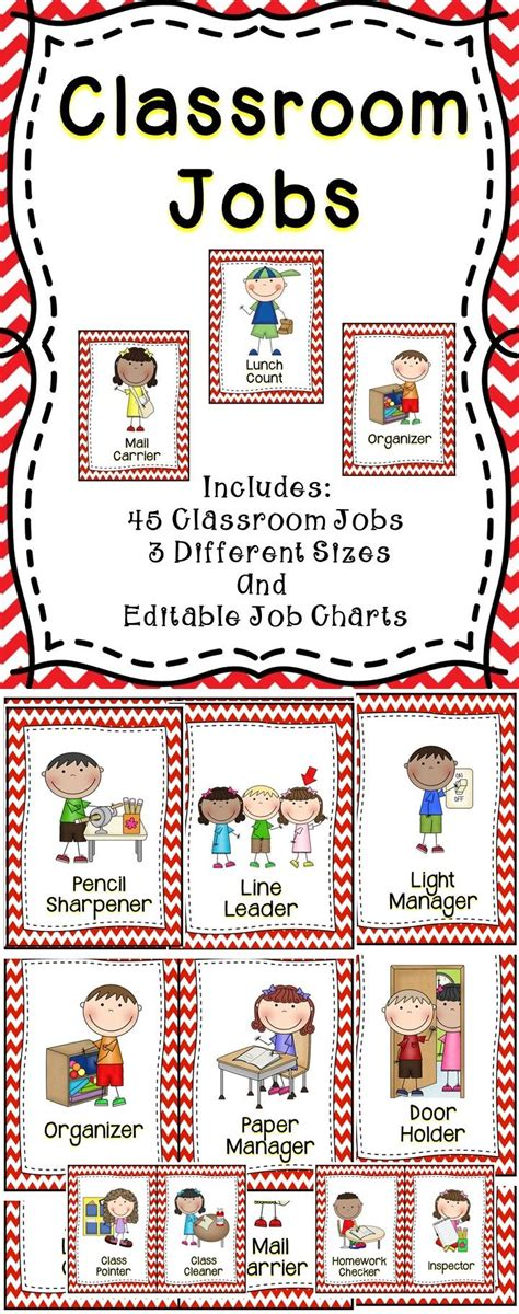 best 25 preschool classroom ideas on 775 | e04f3eb38fb89b1885b8075a5549633d kindergarten classroom jobs classroom job chart