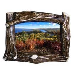 replica antler picture frame