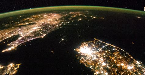 North Korea shrouded in darkness in stunning new photo